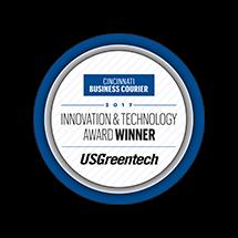 Cincinnati Business Courier Innovation & Technology Award Winner